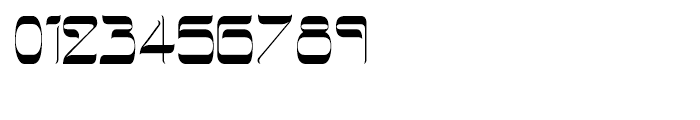 Hebrew Latino Light Font OTHER CHARS