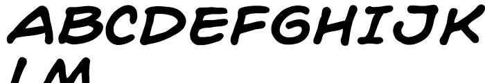 Hedge Backwards Intl Bold Italic Font UPPERCASE