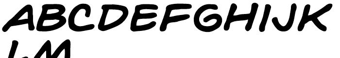 Hedge Backwards Intl Bold Italic Font LOWERCASE