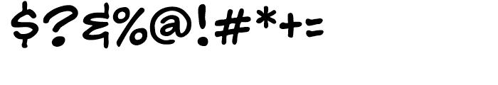 Hedge Backwards Intl Regular Font OTHER CHARS