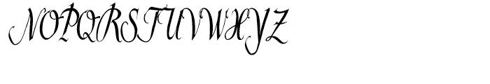 Helenia Normal Font UPPERCASE