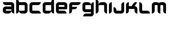 Helion Regular Font LOWERCASE