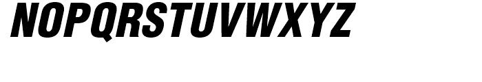 Helvetica Black Condensed Oblique Font