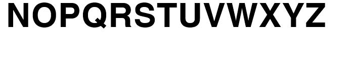 Helvetica Bold Font UPPERCASE