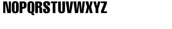 Helvetica Compressed Font UPPERCASE