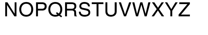 Helvetica Hebrew Roman Font UPPERCASE