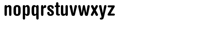 Helvetica Rounded Condensed Bold Font LOWERCASE