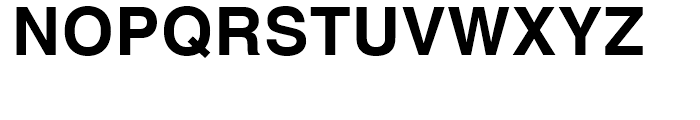Helvetica Textbook Bold Font UPPERCASE