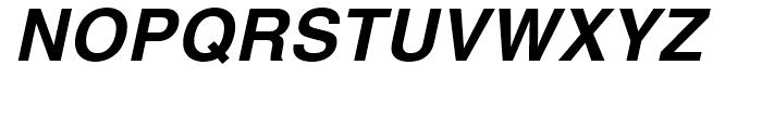 Helvetica Thai Bold Italic Font UPPERCASE