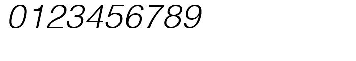 Helvetica Thai Light Italic Font OTHER CHARS