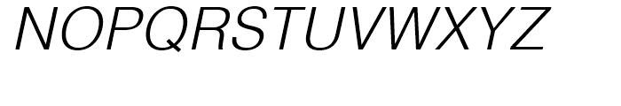 Helvetica Thai Light Italic Font UPPERCASE