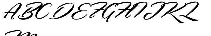 Hemmet Regular Font UPPERCASE