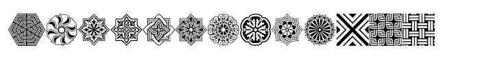 Henman Pict Three Font LOWERCASE