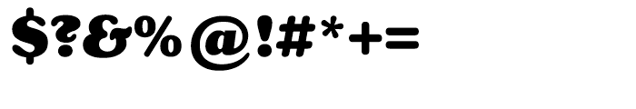 Henriette Black Font OTHER CHARS