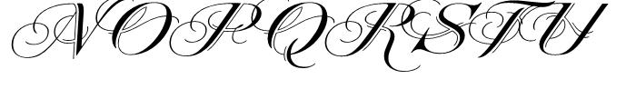 Heraldica Regular Font UPPERCASE