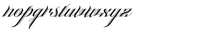 Heraldica Regular Font LOWERCASE