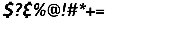 Hermes FB Semi Bold Italic Font OTHER CHARS