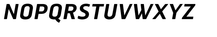 Hermes FB Semi Bold Italic Font UPPERCASE