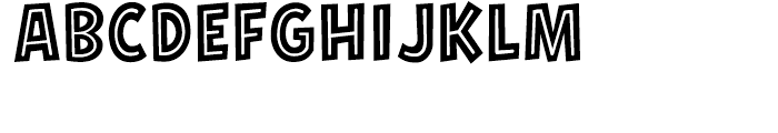 Hero Sandwich Combos Pulled Pork Font UPPERCASE