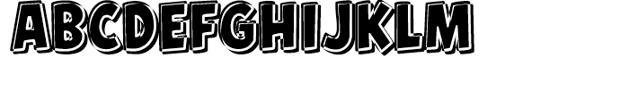 Hero Sandwich Combos The Works Font UPPERCASE