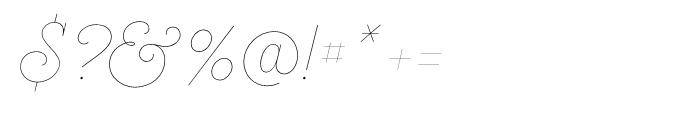 Heroe Monoline Big Pro Font OTHER CHARS