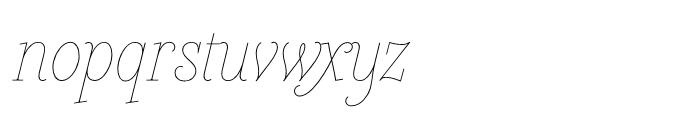 Heroe Monoline Small Pro Font LOWERCASE