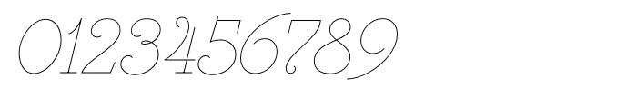 Heroe Monoline Small Std Font OTHER CHARS
