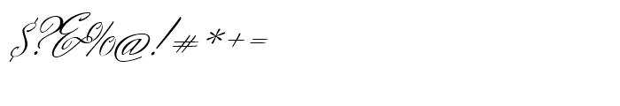 Herr Von Muellerhoff Regular Font OTHER CHARS