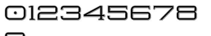 Herradura Inline Shadowed Font OTHER CHARS