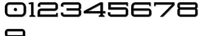 Herradura Solid Shadowed Font OTHER CHARS
