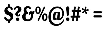 Henriette Compressed Bold Font OTHER CHARS