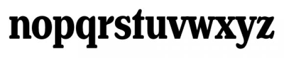 Henriette Compressed Bold Font LOWERCASE