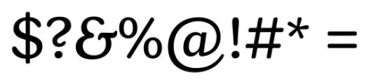 Henriette Regular Font OTHER CHARS