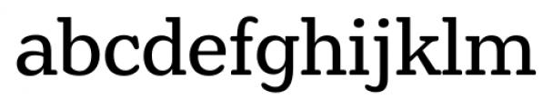 Henriette Regular Font LOWERCASE