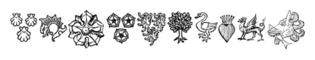 Heraldic Devices Premium Regular Font OTHER CHARS