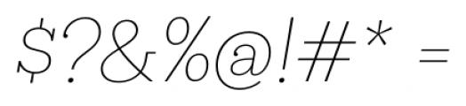 Hern�ndez Niu Extra Light Italic Font OTHER CHARS