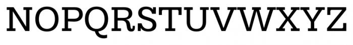 Hern�ndez Niu Regular Font UPPERCASE