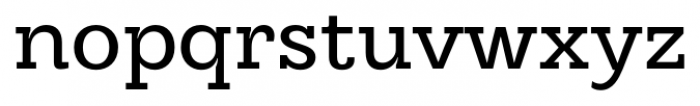 Hern�ndez Niu Regular Font LOWERCASE