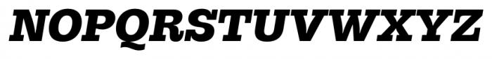 Hern�ndez Niu Ultra Bold Italic Font UPPERCASE