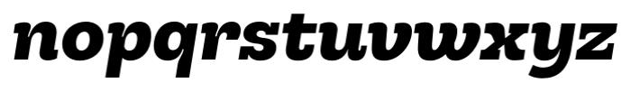 Hern�ndez Niu Ultra Bold Italic Font LOWERCASE