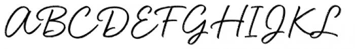 Head Turn Font UPPERCASE