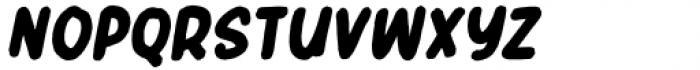 Header Marker Italic Font UPPERCASE