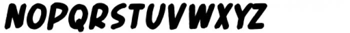 Header Marker Italic Font LOWERCASE