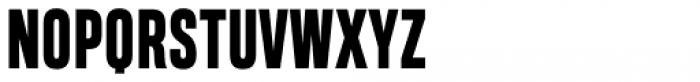 Heading Compressed Pro ExtraBold Font UPPERCASE