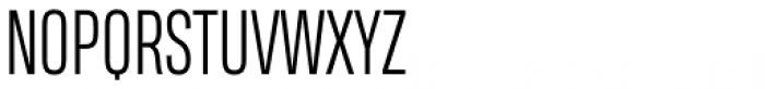 Heading Compressed Pro Light Font UPPERCASE
