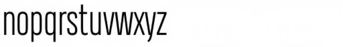 Heading Compressed Pro Light Font LOWERCASE