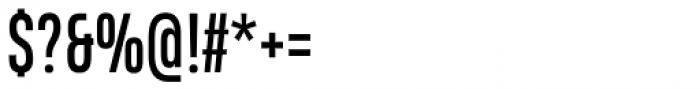 Heading Compressed Pro Regular Font OTHER CHARS