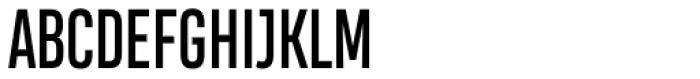 Heading Compressed Pro Regular Font UPPERCASE