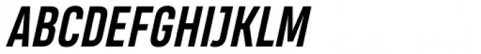 Heading Pro Bold Italic Font UPPERCASE