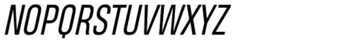 Heading Pro Book Italic Font UPPERCASE